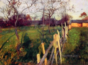 Home Fields John Singer Sargent Oil Paintings